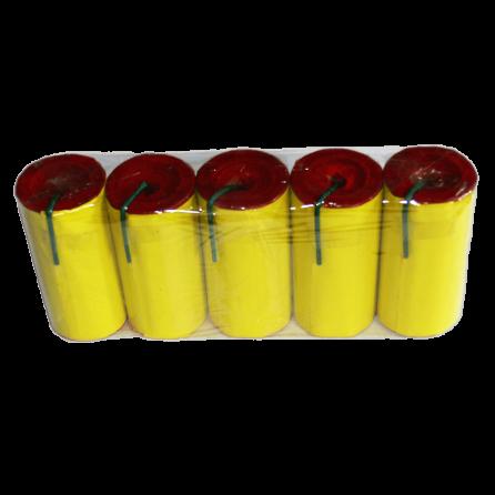 TXF652 Smoke Fountine Triplex yellow