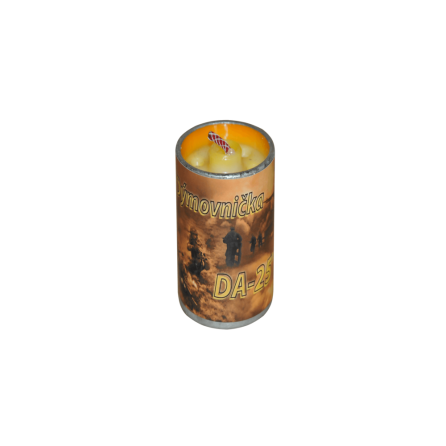 Smoke candle 25s DA-25 5/1 Orange