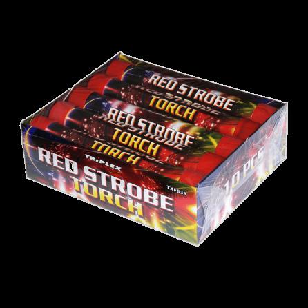 TXF839 Czerwony Stroboskop Triplex